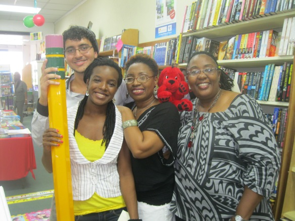 Mark, Shakirah (me) Sandra and Cher at Day's Book Store