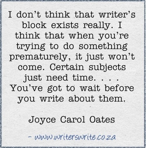 Write block essay