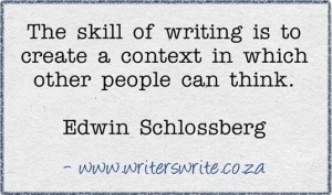 The Skill of Writing